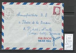 Reunion - Lettre NEFLES - SAINT PAUL - 1961 - Storia Postale