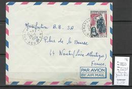 Reunion - Lettre GRANDS BOIS - 1966 - Storia Postale