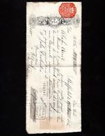 SHEFFIELD 1885 - Lettre De Change Illustrée 1885 - SPEAR & JACKSON - Lettre De Change Pour Quincaillerie à ELBEUF - Cambiali