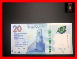"""HONG KONG 20 $ 1.1.2018  """"SCB""""  P. New  UNC - Hong Kong"""