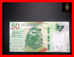 HONG KONG 50 $  1.1.2018   HSBC   P. New    UNC - Hong Kong
