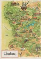 Oberharz - Übersichtskarte - 1988 - Oberharz