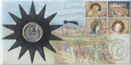 """Vaticano - 2000 - FDC """"Natale - Bimillenario Della Nascita Di Gesù"""" MNH** S.cpl4v + Moneta Argento - FDC"""