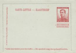 Carte Lettre , Albert 1er - Postbladen