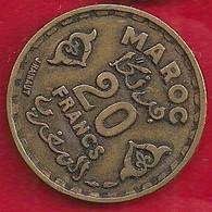 MAROC 20 FRANCS - 1371 - Morocco