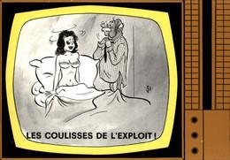 ILLUSTRATEURS - ALEXANDRE - Emission De Télévision - Les Coulisses De L'exploit - Télé - Alexandre