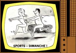 ILLUSTRATEURS - ALEXANDRE - Emission De Télévision - Sports Dimanche - Télé - Alexandre