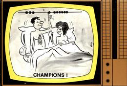 ILLUSTRATEURS - ALEXANDRE - Emission De Télévision - Champions - Télé - Alexandre