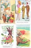 Humour - Lot De 40 Cartes Humoristiques: Les Vacances, Pétanque, Pêche, Militaires Et Divers - Toutes époques - 5 - 99 Postales