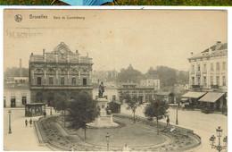 CPA - BELGIQUE - BRUXELLES - Gare Du Luxembourg - - Transporte Público