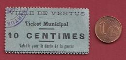 France 0.10 Cts ---Vertus (51)---dans L 'état--- Lot N °203 - Bonos