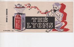 Buvard Thé Lyons La Plus Grande Marque Mondiale Lions'Tea Qualité De Luxe B. Ghesquières Lille - Coffee & Tea