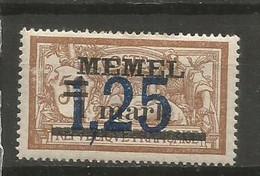 Timbre Colonie Française Memel  Neuf *  N 43 - Nuovi