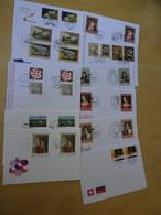 Liechtenstein 11 FDC Mit Bildgleichen Marken Anderer Länder (15063) - FDC