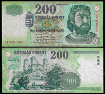 HUNGARY BANKNOTE - 200 FORINT 1998 P#178a VF (NT#05) - Hungary