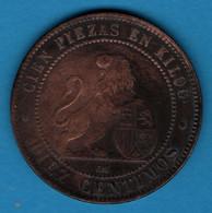 ESPANA 10 Centimos 1870 OM KM# 663 Provisional Government - First Minting