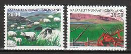 GROENLAND - N°617/8 ** (2013) Agriculture - Ungebraucht