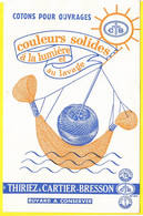 Buvard Textiles Tissus Thiriez Et Cartier- Bresson Fils Coton Lille Paris - Textile & Clothing
