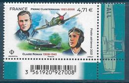 PA 85 Pierre Clostermann / Claire Roman Du Feuillet De 12 Timbres (2020) Neuf** - 1960-.... Nuovi
