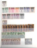 Saarland Steckbuch Mit Freimarken Gestempelt / Saar Lotto Timbrato In Raccoglitore - Collections, Lots & Series