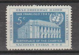 Chartre Des Nations Unies - Ongebruikt