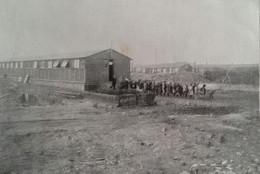LENS Sortie De L'école Installée Dans Une Construction Provisoire 1919 - Unclassified