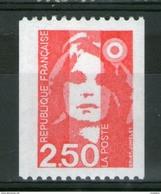 N° 2719d** Yvert_2717d Dallay_gomme Brillante N° Rouge Verso_cote 10.00_(v566) - 1989-96 Marianne Du Bicentenaire