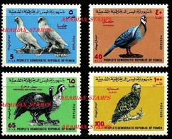 PDR PEOPLE'S DEMOCRATIC PEOPLE REPUBLIC SOUTH YEMEN DU SUD 1971 EAGLES & BIRDS OF PREY PIGEON PARTRIDGE GLEDE FOWL - Grey Partridge