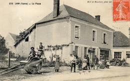 - LAIN (89) - La Place  (bien Animée)  -25736- - Other Municipalities