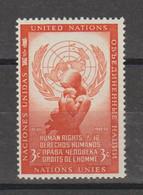 Droits De L'homme - Unused Stamps