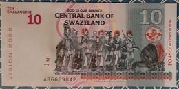 Swaziland - 10E - 6/09/2015 - UNC - Swaziland