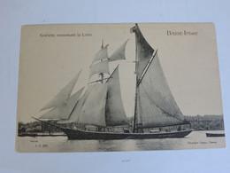 BASSE-INDRE - Goêlette Remontant La Loire  B0251 - Basse-Indre