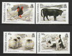 TRISTAN DA CUNHA - N°590/3 ** (1997) Faune - Tristan Da Cunha