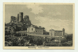 MAZZARINO - ANTICO CASTELLO  VIAGGIATA  FP - Caltanissetta