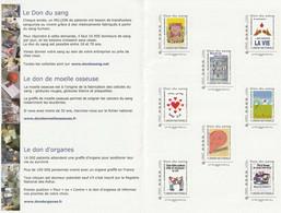 France - Collector - Le Don Du Sang - Le Don De Moelle Osseuse - Le Don D'organes - 2011 ⭐ - Collectors
