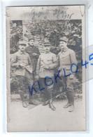 71 Givry CARTE PHOTO Militaires Adjudant Keller  Sergent Major Tue Valérien Sergent Fr Martin Robert ... Généalogie - Altri Comuni