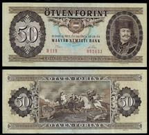 HUNGARY BANKNOTE - 50 FORINT 1975 P#170c VF (NT#05) - Hungary