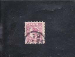VICTORIA  1/2 P ROSE DENT.12 1/2 SANS FIL.  OBLITéRé N° 38a  YVERT ET TELLIER 1873 - Gebraucht