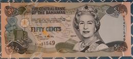 Bahamas - ½$ - 2001 - UNC - Bahamas