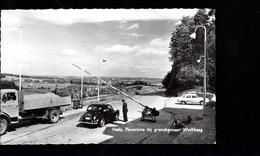 1187-VAALS (KELMIS MORESNET GEMMENICH) -pano Bij Grenskantoor Wolfhaag Douane Douanier-camion HELMUT LEYENS RAEREN - Plombières
