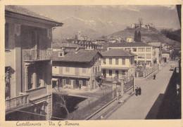 ITALIA. CASTELLAMONTE, VIA G ROMANA. CARTOLINA POSTALE. POSTE MILITARE CIRCOLATO ANNO 1941.- LILHU - Ohne Zuordnung