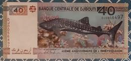 Djibouti - 40F - 2017 - Commémoratif - UNC - Djibouti