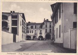 ITALIA. CASTELLAMONTE, LARGO MEDAGLIA D'ORO FERRUCCIO TALENTINO. CARTOLINA POSTALE. POSTE MILITARE CIRCOLATO 1940- LILHU - Ohne Zuordnung