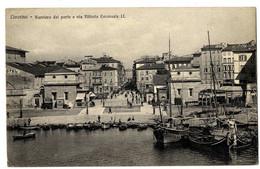ITALIE  LIVORNO  -   BARRIERA DEL PORTO E VIA VITTORIO EMANUELE II - Livorno