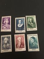 Timbres De France Neufs De 1955 - Numéros 1027 à 1032 - Serie Complète - Nuovi