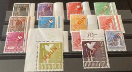 BERLIN 1949 Unused Stamps Extra Paper - Ongebruikt