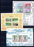 S78 Ensemble De Timbres ** De Jamaïca,. A Saisir !!! - Collections (with Albums)