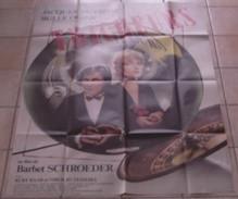 AFFICHE CINEMA ORIGINALE FILM LES TRICHEURS Barbet SCHROEDER Jacques DUTRONC Bulle OGIER 1984 TB DESSIN CASINO - Posters