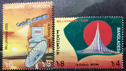 BANGLADESH 1999 MNH STAMP ON MILLENNIUM THEMES - Bangladesh