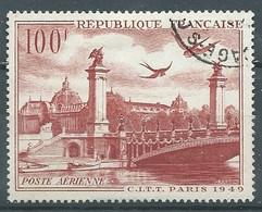 France Poste Aérienne YT N°28 C.I.T.T. Paris 1949 Neuf ** - 1927-1959 Gebraucht
